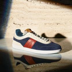 tod's nouveautés sneakers tod's sneakerTOD'S SNEAKER - NUBUCK ET CUIR -