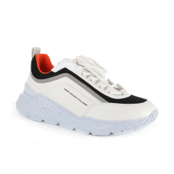 msgm nouveautés sneakers SneakersMSGM H SNEAKER 2. - CUIR - BLANC