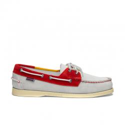 sebago nouveautés chaussures bateau docksides portlandDOCKSIDES PORTLAND - NUBUCK TRIC