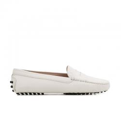 tod's mocassins & slippers Mocassins GomminoTODWOMEN - CUIR GRAINÉ - BLANC