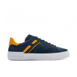 hogan nouveautés sneakers Sneakers Cassetta RebelCASSETTA REBEL - NUBUCK - MARINE