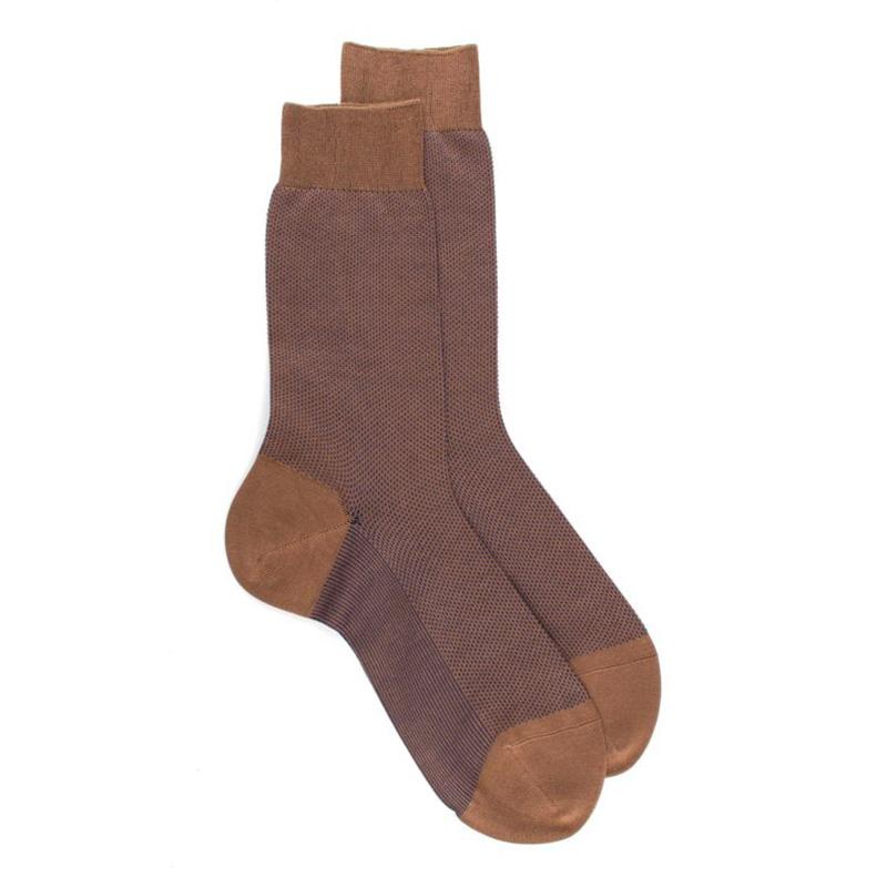 doré doré chaussettes Chaussettes à motifs caviarDD MOTIF CAVIAR - CÔTON À MOTIF