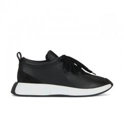 giuseppe zanotti nouveautés sneakers Sneakers OmniaGZ H OMNIA - CUIR BICOLORE ET NU