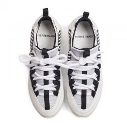 pierre hardy nouveautés sneakers Sneakers Trek CometPHF COMET F - CUIR ET NÉOPRÈNE -