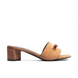 pierre hardy nouveautés sandales phf mule mini obiPHF MULE MINI OBI - SUEDE - BEIG