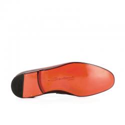 santoni mocassins et slippers MocassinsCARLOS - CUIR SOUPLE GRAINÉ - GO