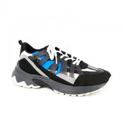 msgm nouveautés sneakers SneakersMSGM H SNEAKERS 3 - CUIR ET TISS