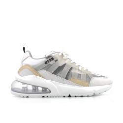 msgm sneakers SneakersMSGM F SNEAKER - CUIR NUBUCK ET