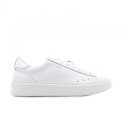 msgm sneakers SneakersMSGM H SNEAKER - CUIR - BLANC
