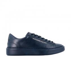 msgm nouveautés sneakers SneakersMSGM H SNEAKER - CUIR - BLEU