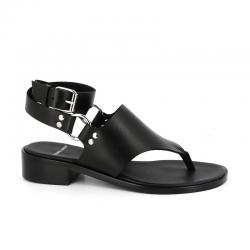 pierre hardy nouveautés sandales Sandales Summer RidPHF SUMMER RID - CUIR - NOIR