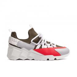 pierre hardy nouveautés sneakers Sneakers Trek CometPHH LX01 COMET - CUIR ET TISSU T