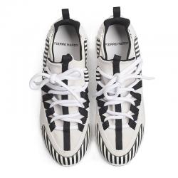 pierre hardy nouveautés sneakers Sneakers Trek CometPHH LX01 COMET - CUIR IMPRIMÉ ET