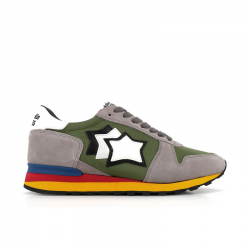 atlantic stars nouveautés sneakers Sneakers ArgoAS ARGO - NUBUCK ET TOILE - KAKI