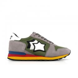 atlantic stars sneakers Sneakers ArgoAS ARGO - NUBUCK ET TOILE - KAKI