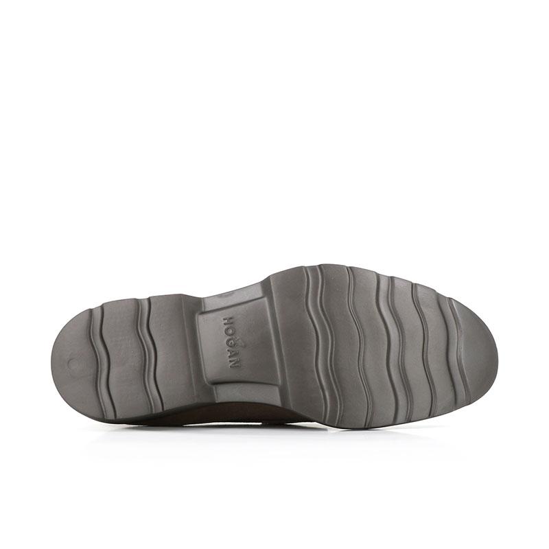 hogan mocassins et slippers MocassinsBARMOC - NUBUCK - TAUPE