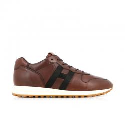 hogan sneakers Sneakers H429HH H429 - CUIR - GOLD ET LOGO NO