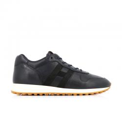 hogan nouveautés sneakers Sneakers H429HH H429 - CUIR - MARINE ET LOGO