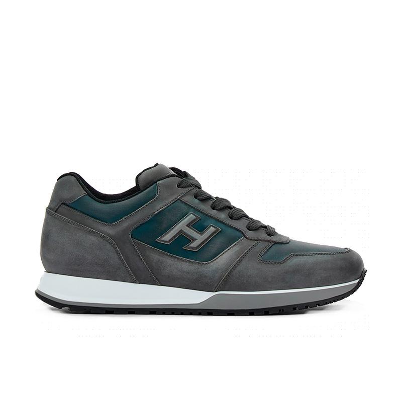 hogan sneakers Sneakers H321HH BASKETS H321 - CUIR DÉLAVÉ -
