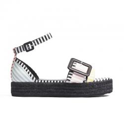 pierre hardy nouveautés sandales Espadrilles AlphaPHF ALPHA ESP - CUIR À MOTIFS IM