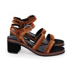 salvatore ferragamo sandales Sandales MaloySF SANDALE MALOY T55 - NUBUCK -