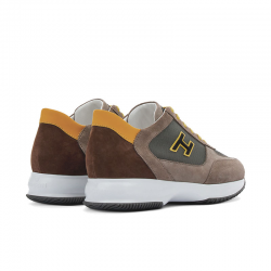 hogan sneakers Sneakers InteractiveHH INTERACTIVE - CUIR NUBUCK ET