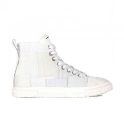 giuseppe zanotti sneakers Sneakers Blabber montantesGZ H BLABBER HAUT - PATCHWORK -