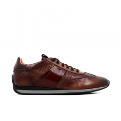 santoni sneakers Sneakers LacourtLACOURT - CUIR PATINÉ - GOLD