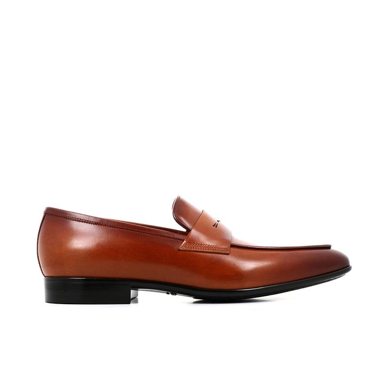 santoni mocassins et slippers Mocassins NantesNANTES MOC - CUIR ROYAL CALF - G