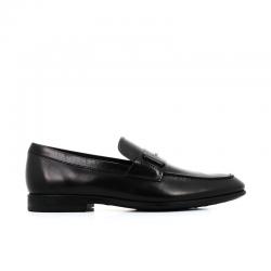 tod's mocassins et slippers Mocassins Double TRIALTO 3T - CUIR - NOIR ET ACCES