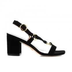 stuart weitzman nouveautés sandales Sandales LalitaSW LALITA T75 BLOCK - SUEDE ET A