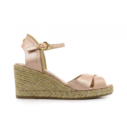 stuart weitzman sandales Sandales Compensées MirelaSW COMP MIRELA - CUIR IRISÉ - RO