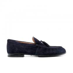 tod's mocassins et slippers Mocassins RivieraRIVIERA 2 - NUBUCK - MARINE