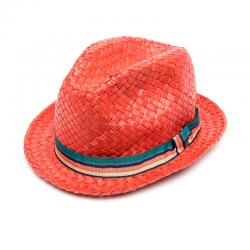 paul smith casquettes & chapeaux ChapeauPSA CHAPEAU - PAILLE - ROUGE ET