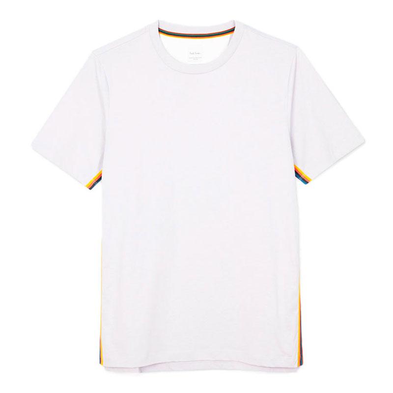 paul smith t-shirts & débardeurs T-shirtPSV T-SHIRT 697 - COTON - BLANC