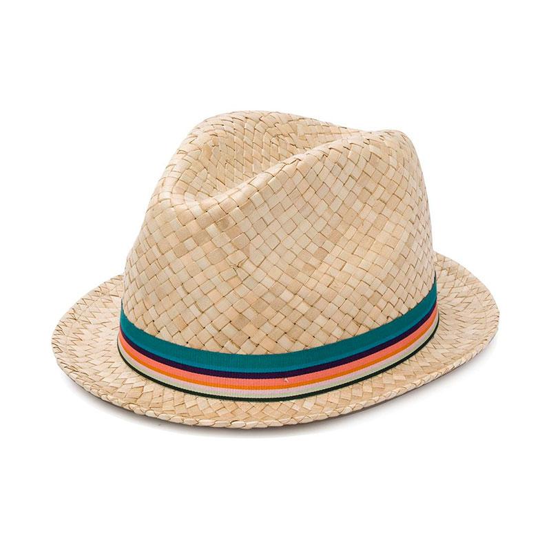 paul smith casquettes & chapeaux ChapeauPSA CHAPEAU - PAILLE - BEIGE ET