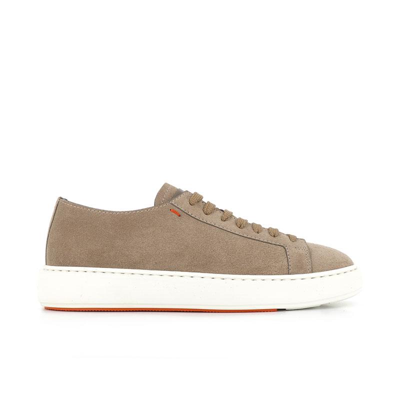 santoni sneakers Sneakers ClineCLINE - NUBUCK - BEIGE