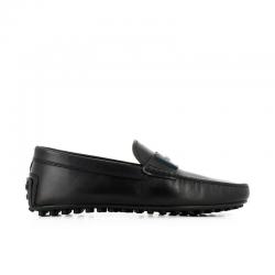 tod's mocassins et slippers Mocassins City GomminoBROKTIE 2 - CUIR - NOIR ET ACCES