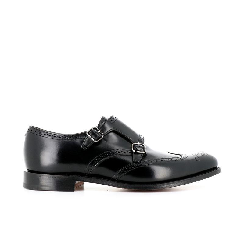 church's chaussures à boucles chicago 2CHICAGO 2 - CUIR POLISH FUMÉ - B
