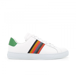 paul smith sneakers Sneakers HansenPS SNEAK HANSEN - CUIR - BLANC,