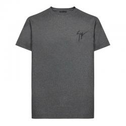giuseppe zanotti t-shirts & débardeurs T-shirt logo signatureGZV H T-SHIRT - COTON DÉLAVÉ - G