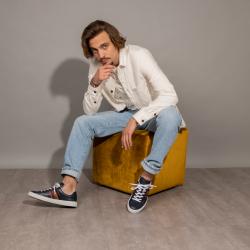 paul smith sneakers Sneakers HansenPS SNEAK HANSEN - CUIR - BLEU ET