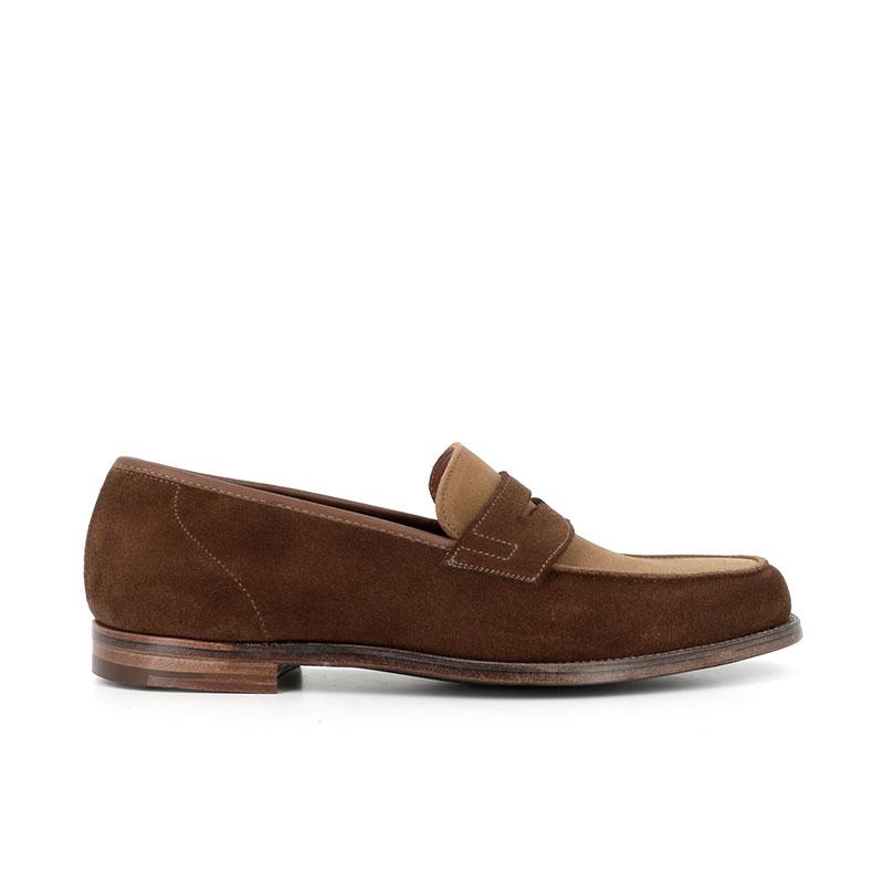 crockett & jones mocassins et slippers Mocassins RichmondC&J RICHMOND 2 - SUEDE BICOLORE
