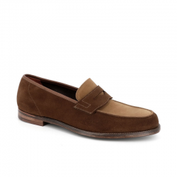 crockett & jones mocassins et slippers Mocassins RichmondC&J RICHMOND 2 - SUEDE BICOLORE