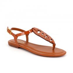 tod's sandales Sandales CatenaTOD'S NP CATENA - CUIR - GOLD