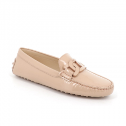 tod's mocassins & slippers tod's catena gomminiTOD'S CATENA GOMMINI - CUIR VERN
