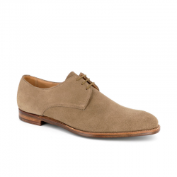 crockett & jones derbies et richelieux Derbies WaterfordC&J WATERFORD - SUEDE - KAKI