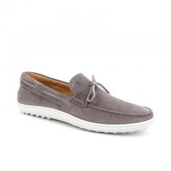 tod's mocassins et slippers MocassinsTODBAS 2 - NUBUCK - GRIS