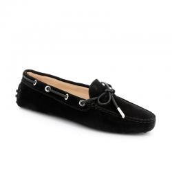 tod's mocassins & slippers Mocassins Gommino à lacetsLASSIE - NUBUCK - NOIR