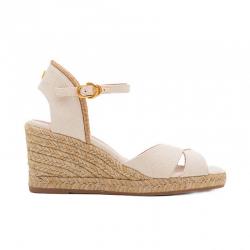 stuart weitzman sandales Sandales Compensées MirelaSW COMP MIRELA - TOILE ET TRESSA